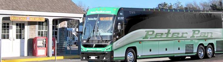 Peter Pan Bus Boston to NYC