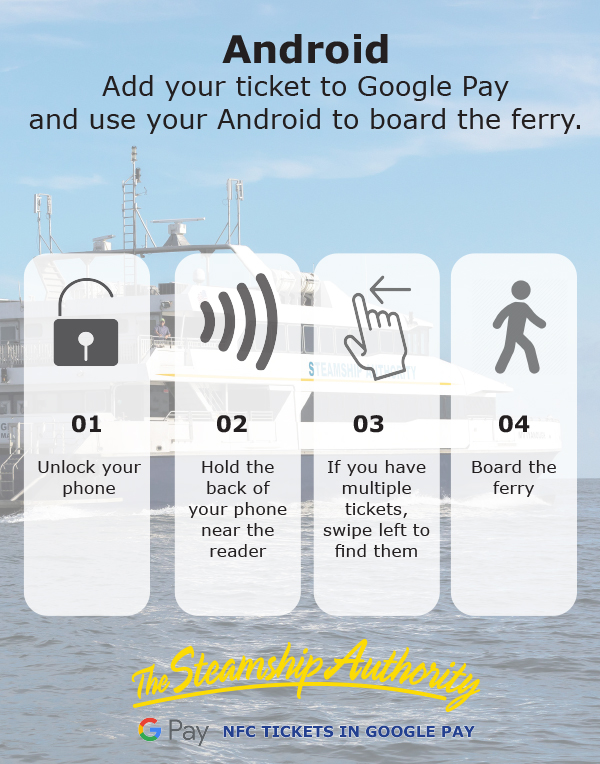 eFerry Android infographic
