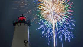 Fireworks at Lighthouse