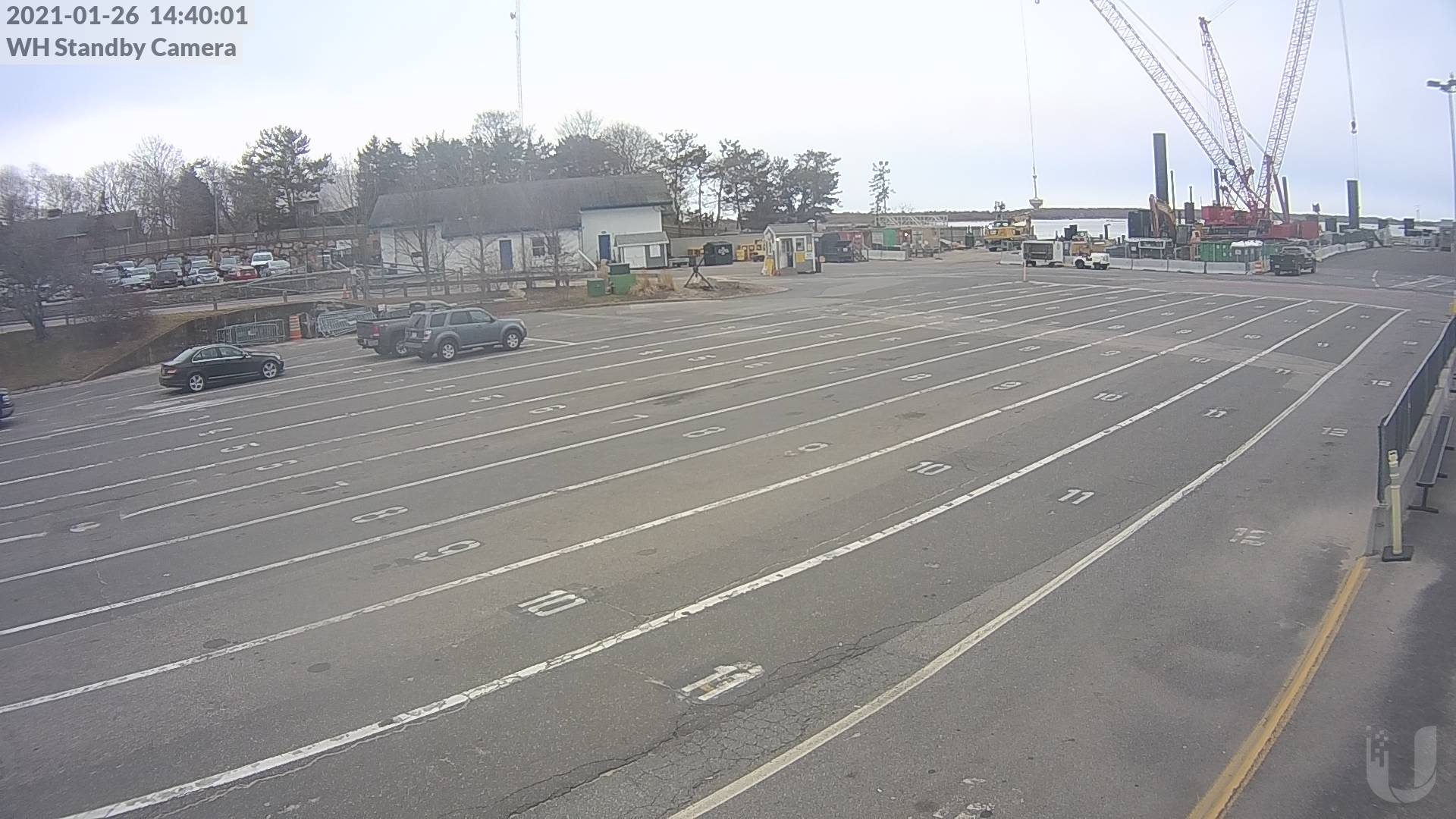 woods hole ferry standby line
